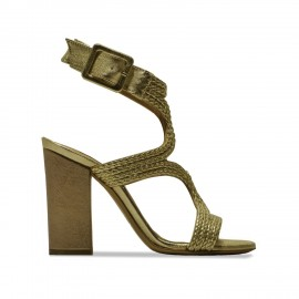 Sandales Vicky oro-alba
