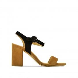 Evaluna sandales bicolores