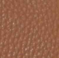 marron sur cuir grainé