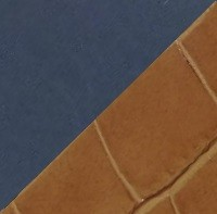 Bleu marine / Croco cannelle